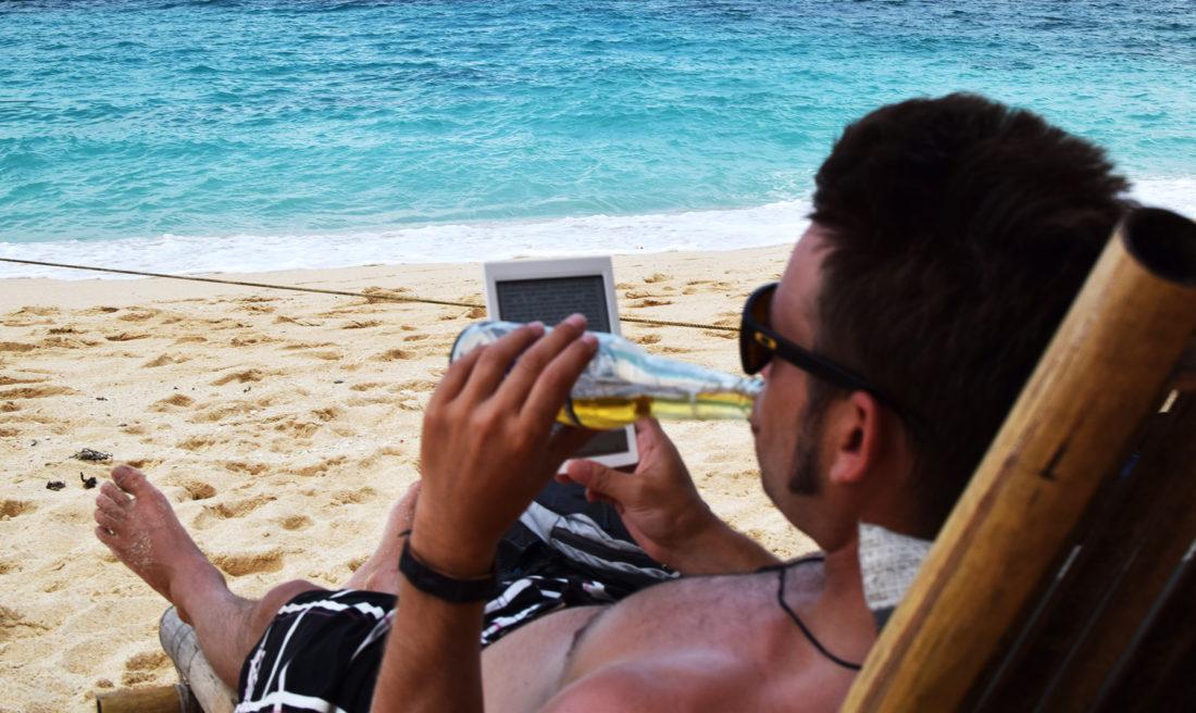 ¡Esto es vida! Puka beach.