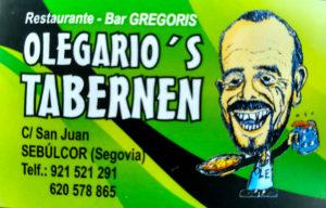 Olegario´s Tabernen en Sebúlcor.