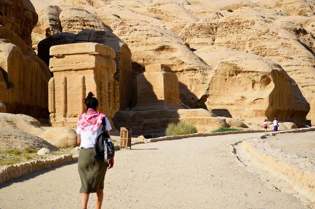 Bloques Djin en Petra