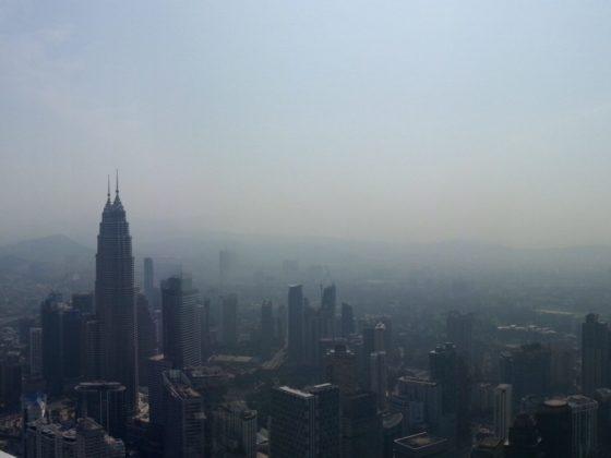 Imagen aérea de Kuala Lumpur