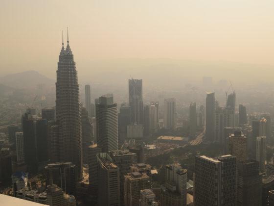 Vistas del distrito centro de Kuala Lumpur