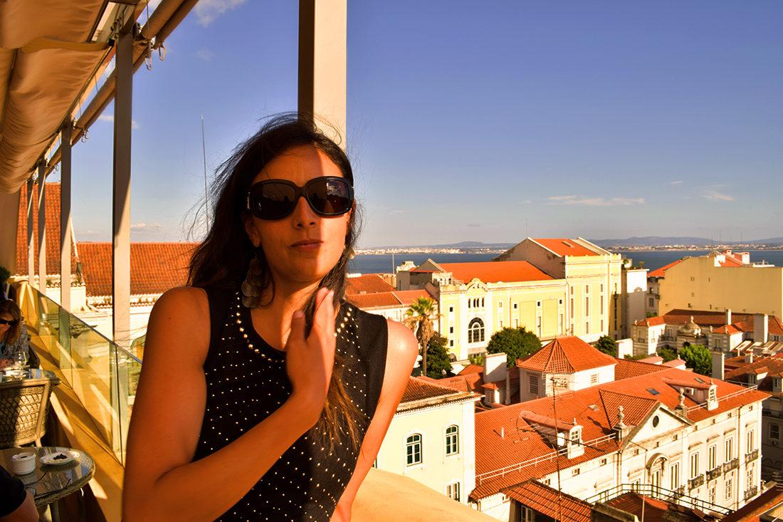Vistas desde la terraza del hotel Barrio Alto.