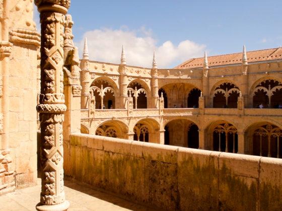 Claustro del Monasterio de los Jerónimos.
