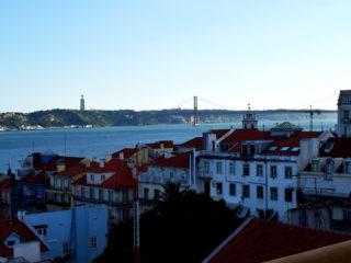 Vista desde Terraza BA, Lisboa