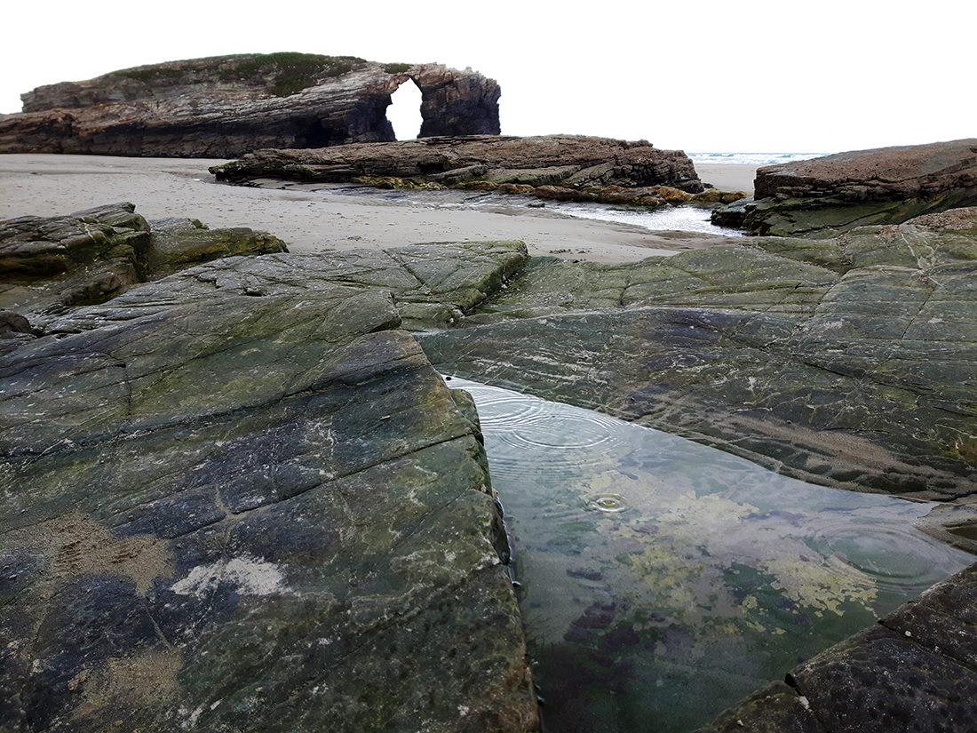 Uno de los iconos de la playa de las Catedrales.
