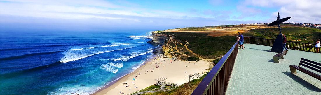 Ribeira D'Ilhas en todo su esplendor, una playa realmente bonita.