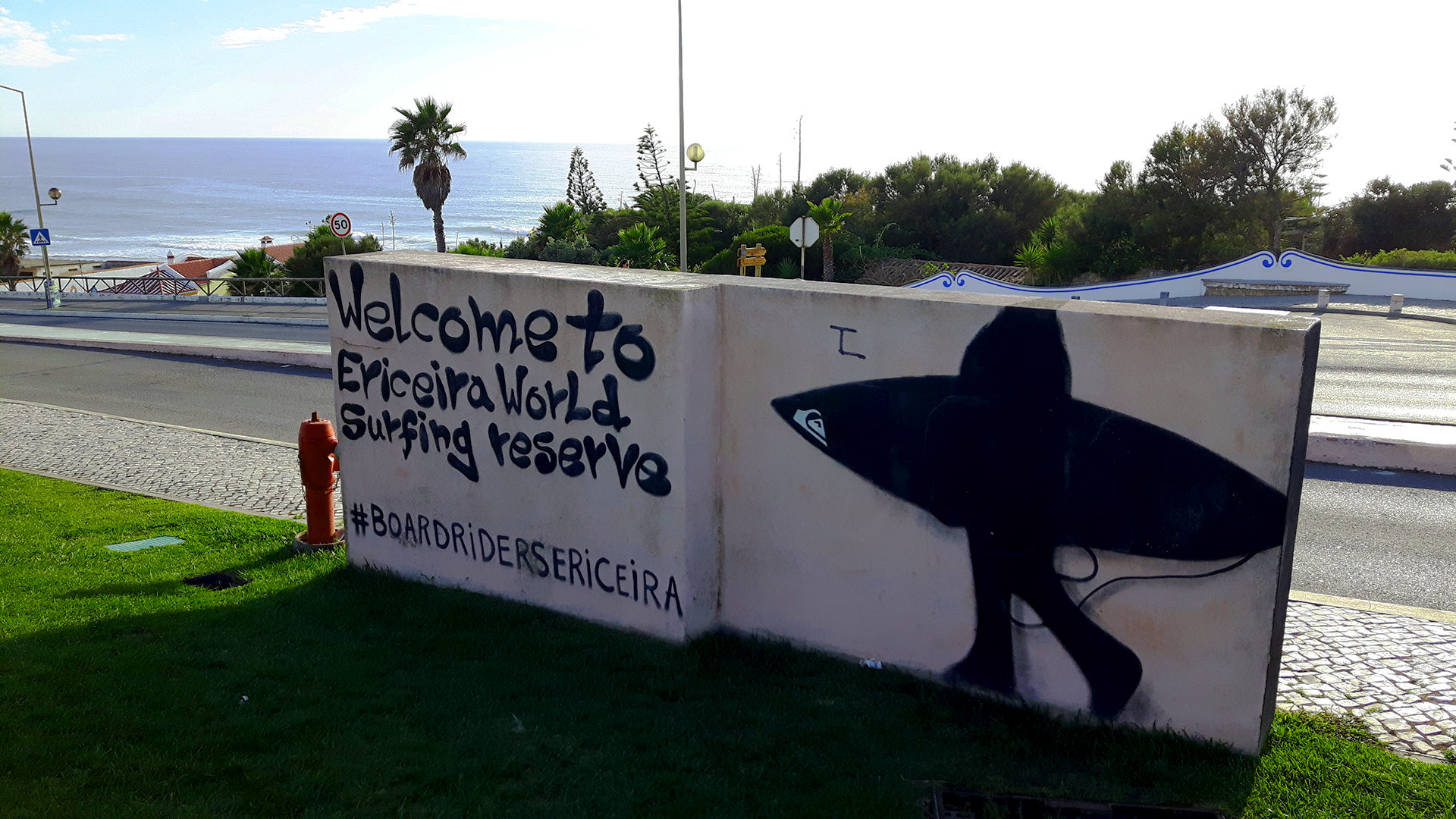 Cartel Welcome to Ericeira