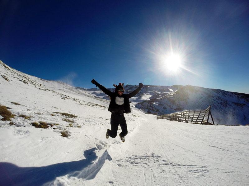 Pistas de ski en Sierra Nevada