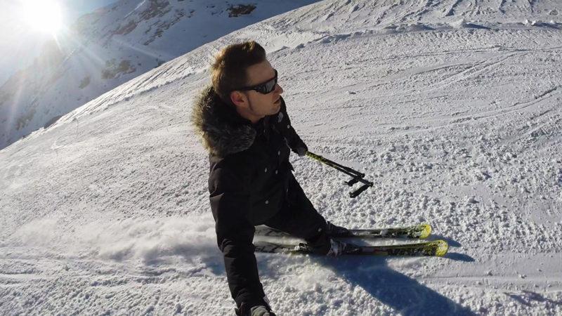 Ski en Laguna de las Yeguas