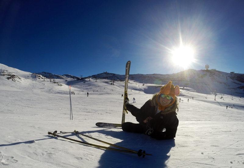 Zona de esqui Borreguiles - Sierra Nevada