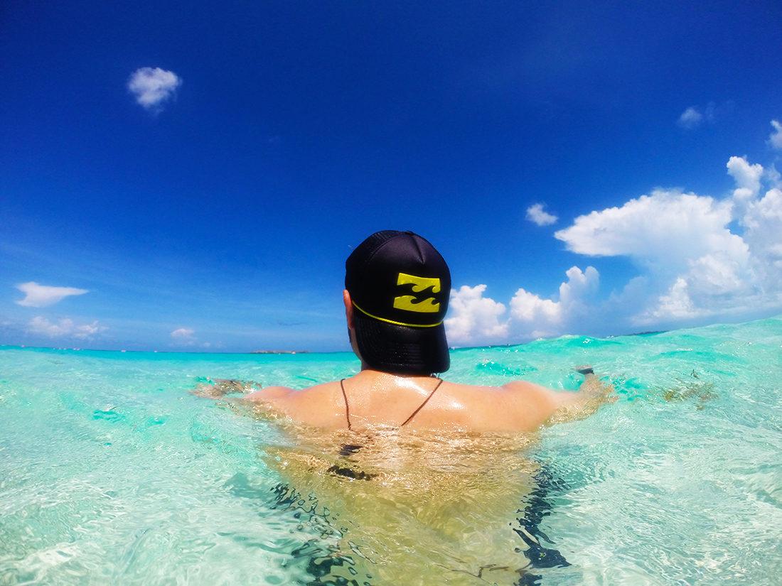 Playa en Bahamas