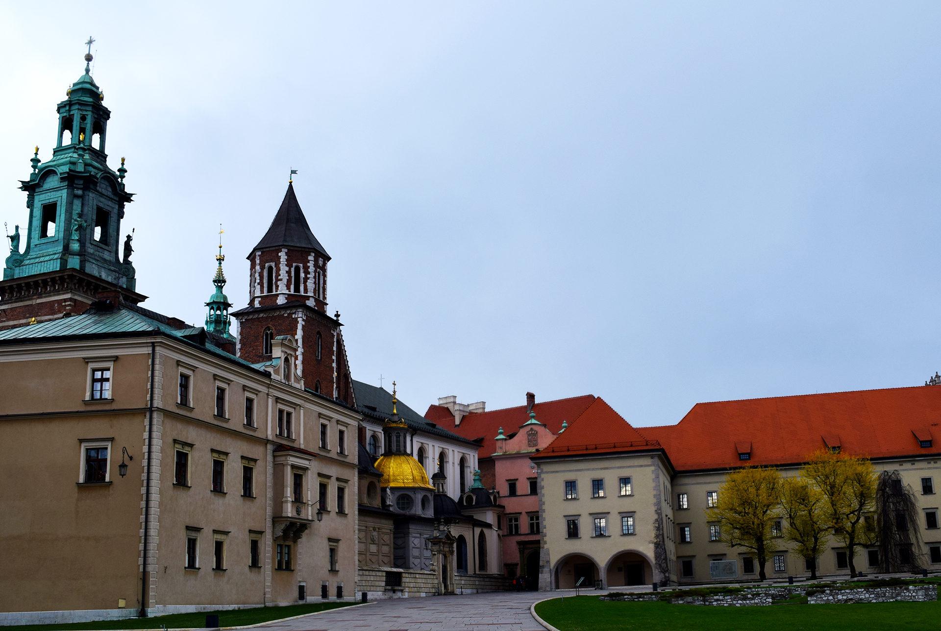 Castillo y catedral de Wawel Cracovia