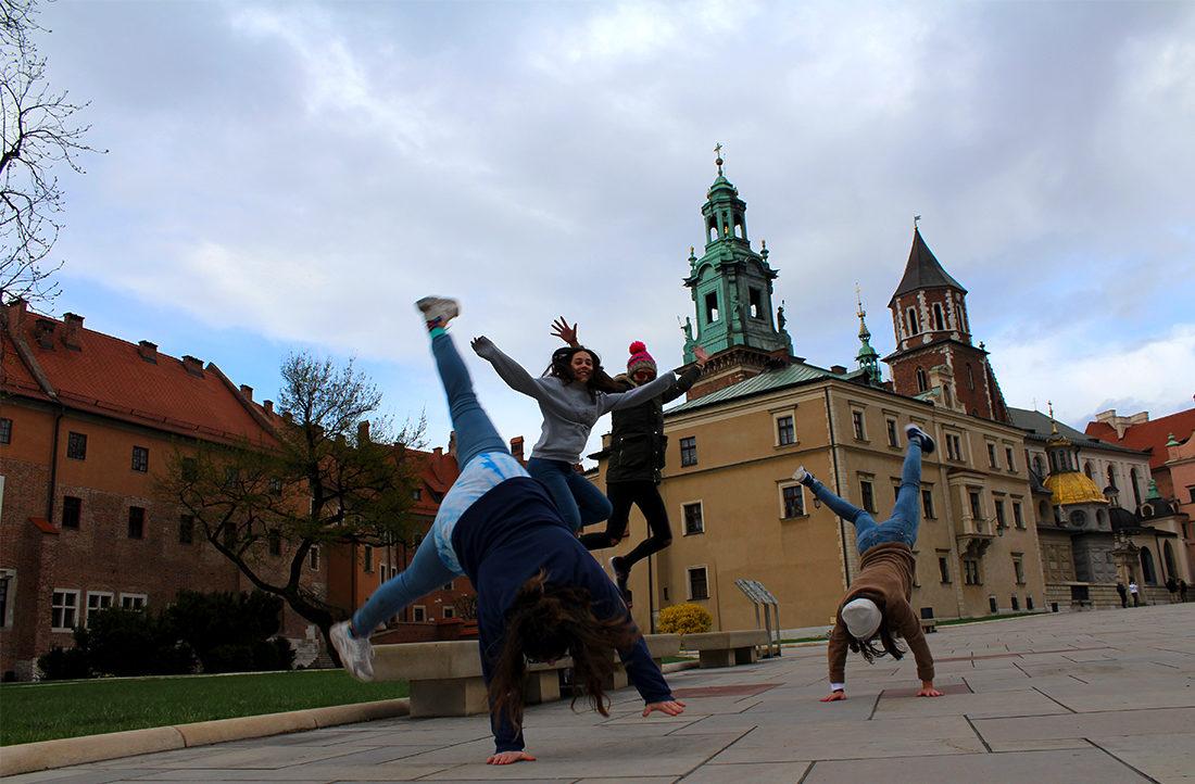 Castillo y catedral de Wawel en Cracovia