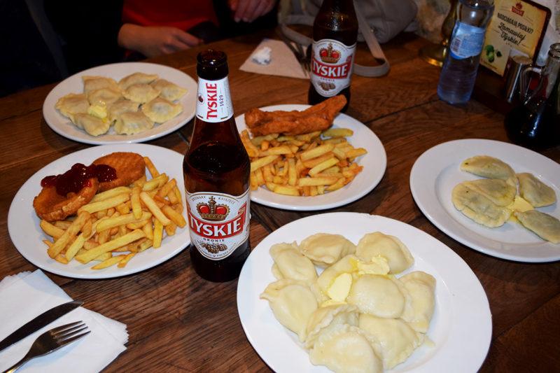 Comida polaca en Gospoda Koko