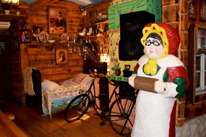 Singular decoración del Babci Maliny, Cracovia