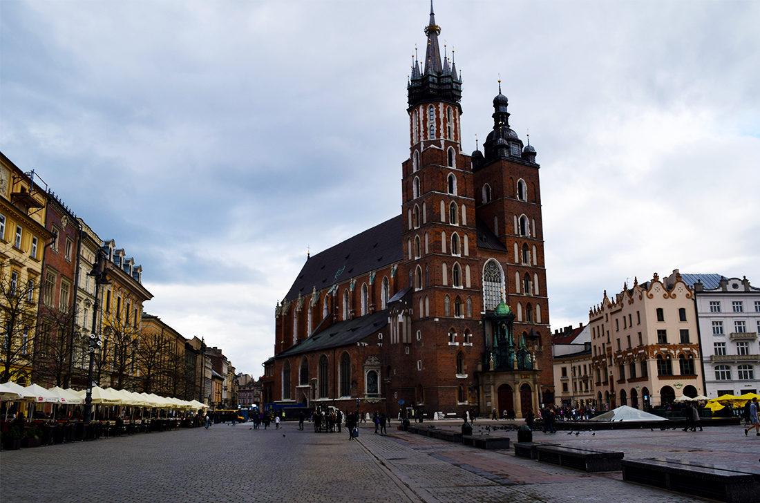 Plaza del Mercado, (Rynek Glówny) en Cracovia