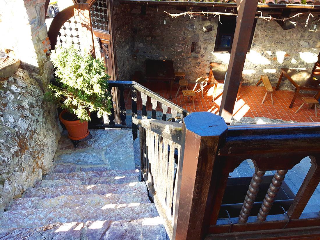 Casona asturiana, ahora restaurante Casa Poli