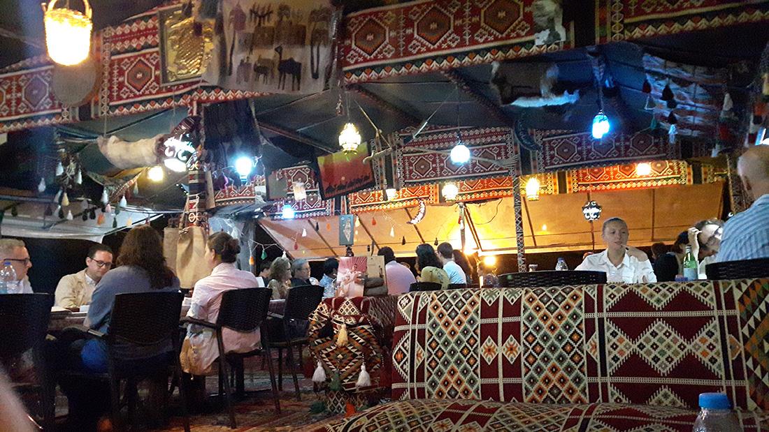 My Moms Recipe restaurant en Petra. Bonito restaurante con auténtica comida local.