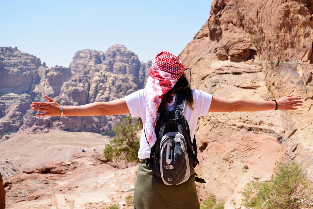 Vistas en el Wadi Farasa