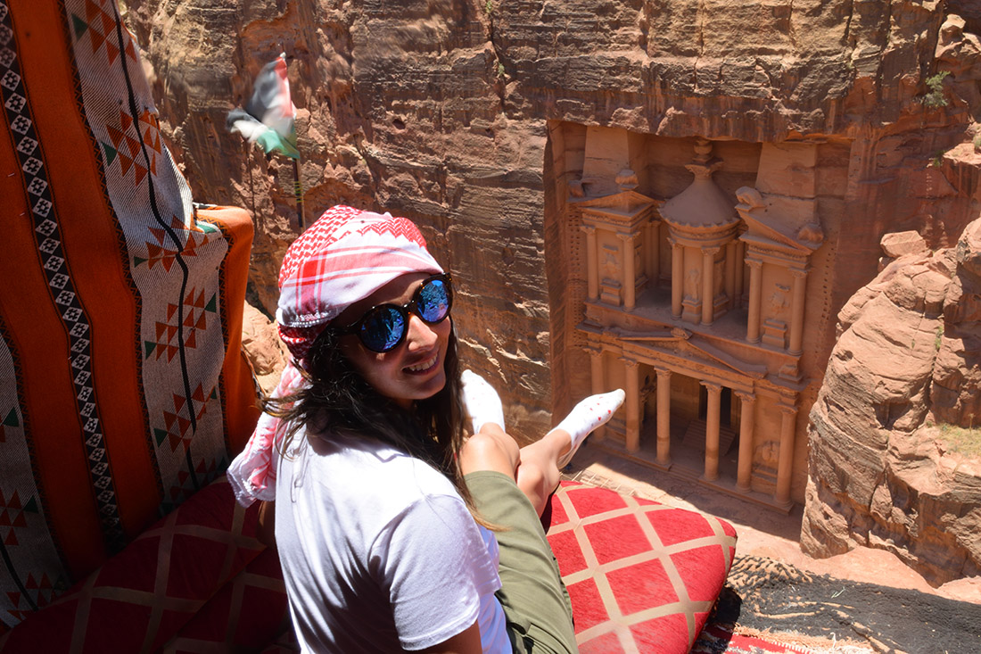 Mirador del Tesoro, Petra