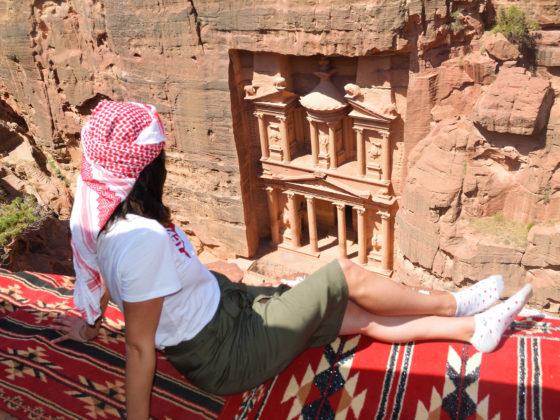 Teteria con las mejores vistas del mundo Petra