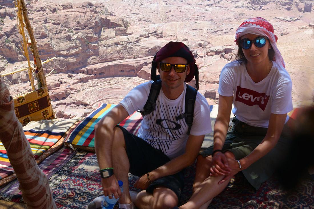 Teteria mirador Teatro de Petra