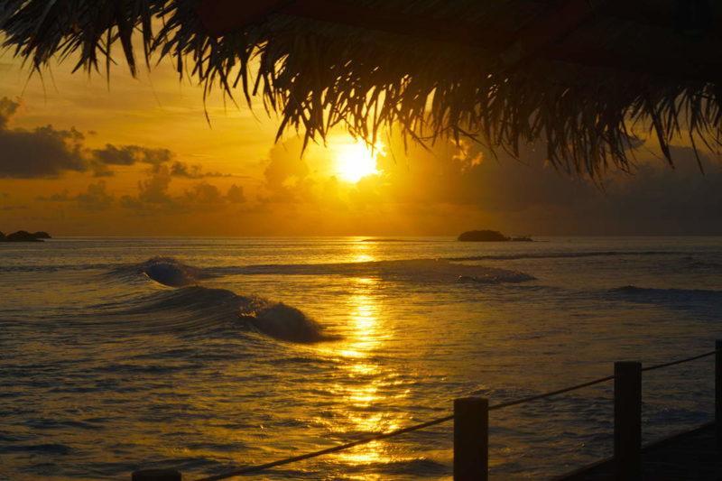 Atardecer en Lohis, Hudhuranfushi resort