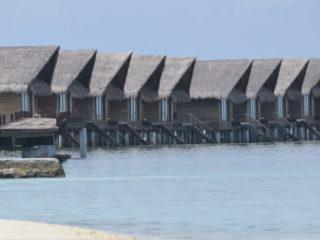 Cabañas overwater Maldivas