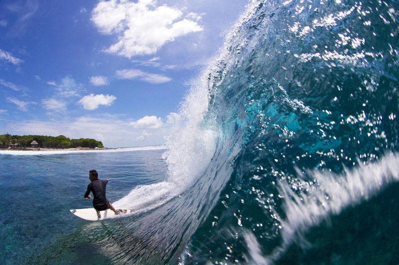 Surf en Lohis, Maldivas