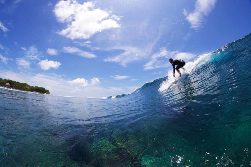 Take off en Lohis Maldivas