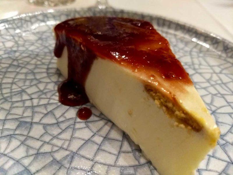 Tarta de queso en O Palleiro