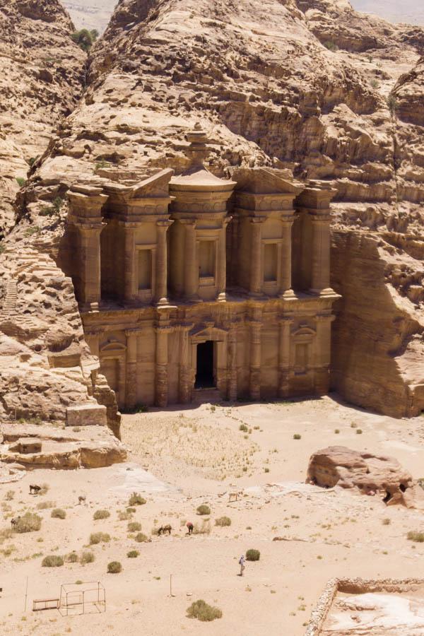 Panorámica del Monasterio en Petra