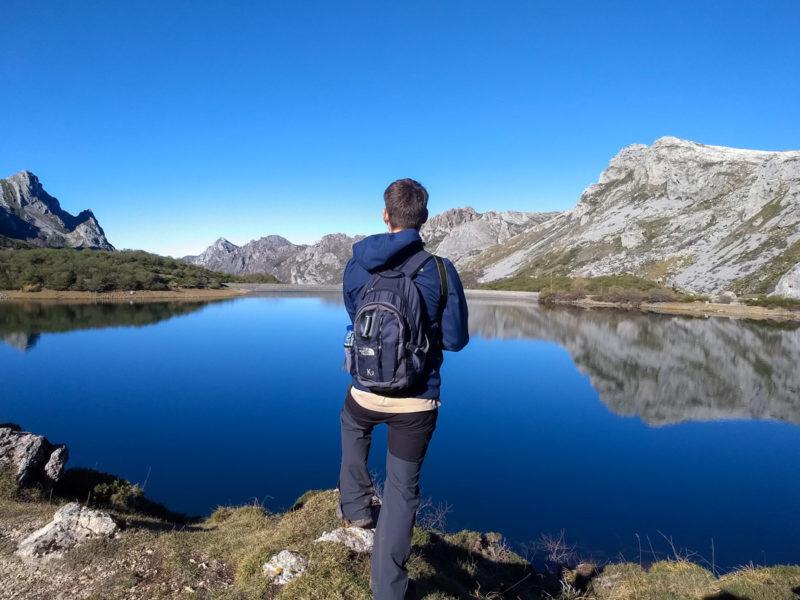 El Lago del Valle Somiedo.