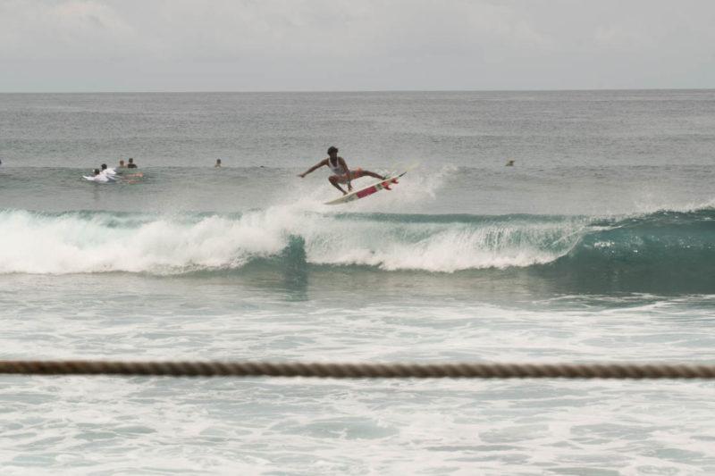 Guía de surf en Lohis.
