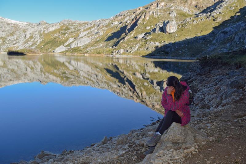Lago del Valle Somiedo.