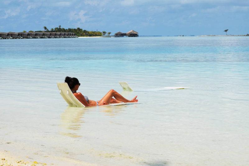 Laguna de Hudhuranfushi resort, Maldivas