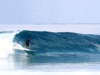 Condiciones perfectas para surfear Lohis