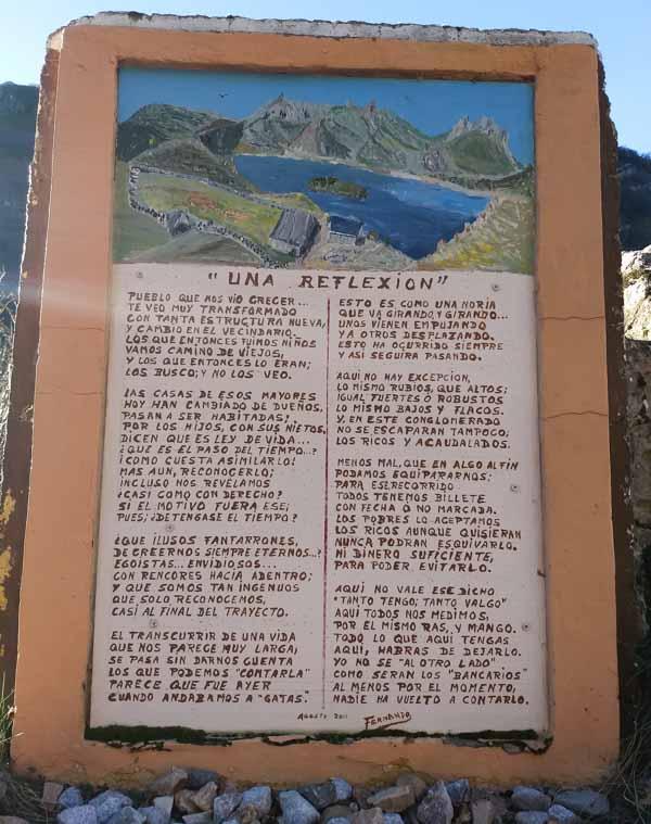 Poema en el Valle del Lago Somiedo.