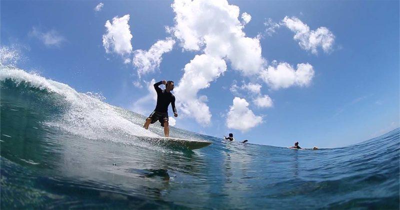 surf en Lohis Maldivas