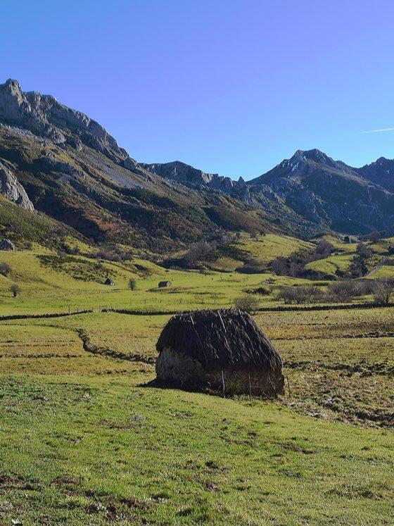 Valle del lago Somiedo Asturias