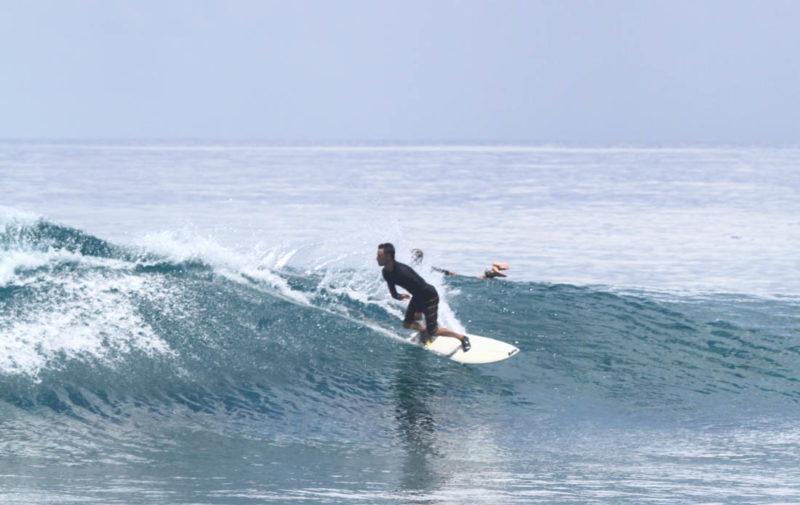 Sección final de Lohis en Maldivas