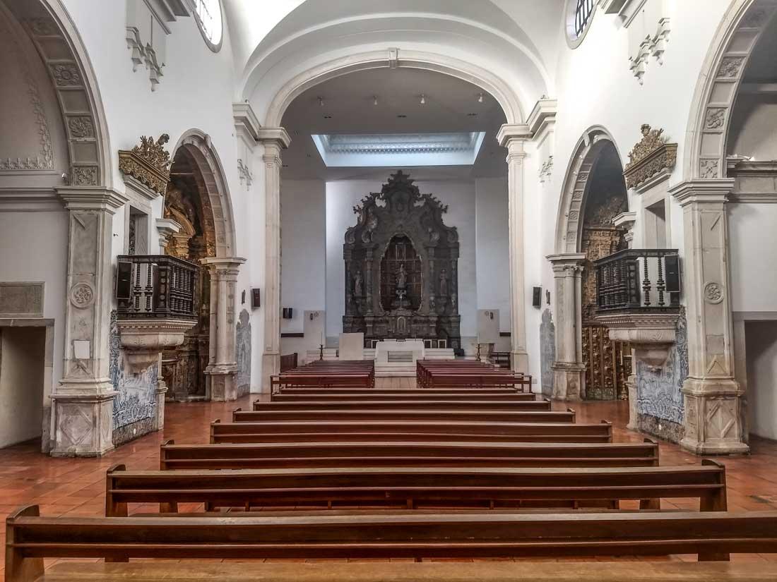 Interior de la Catedral de Aveiro