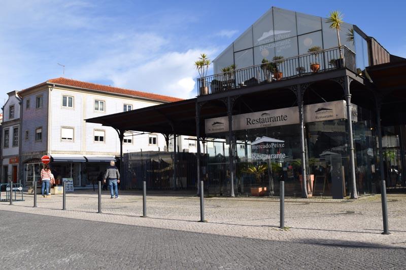Plaza del Pescado en Aveiro