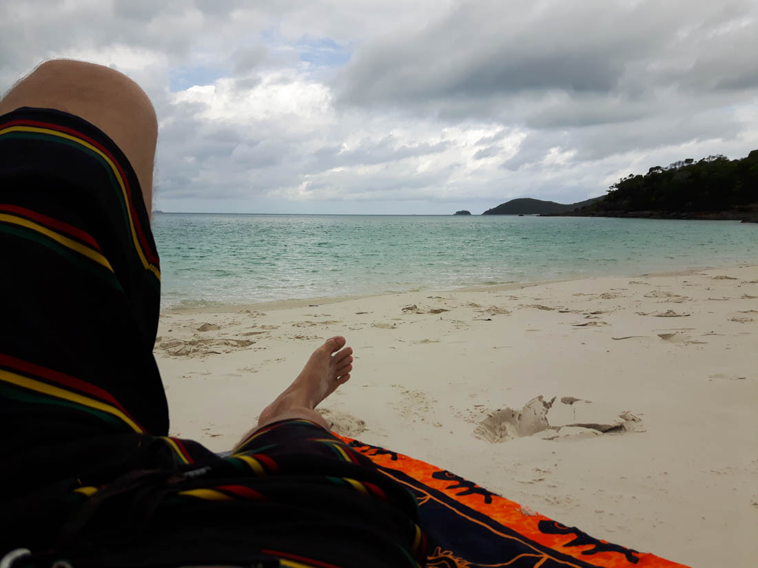 Whitehaven beach en islas Whitsundays