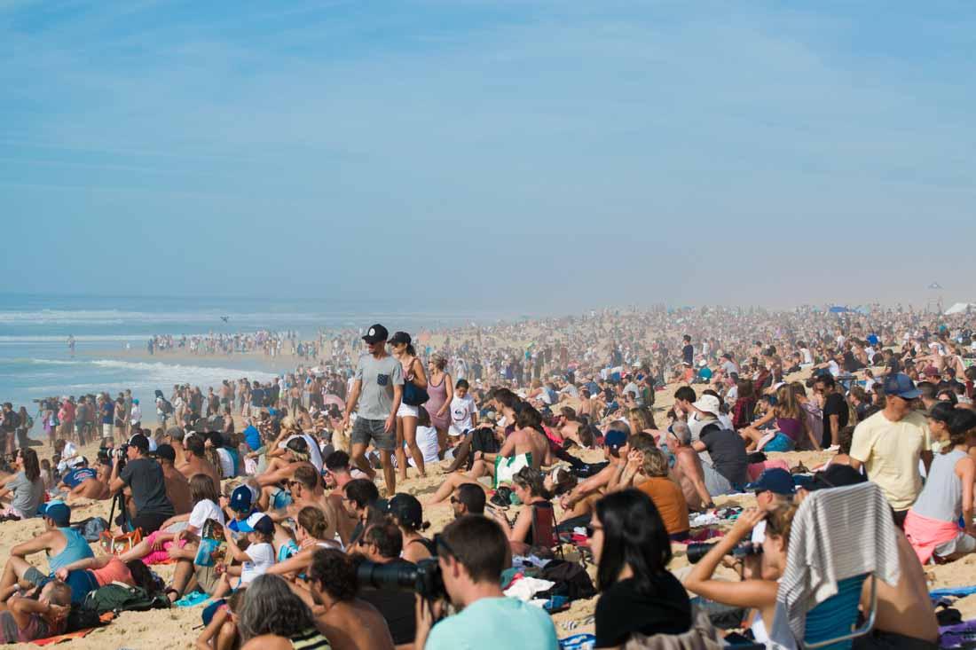 Campeonato del mundo de surf Hossegor La Graviere