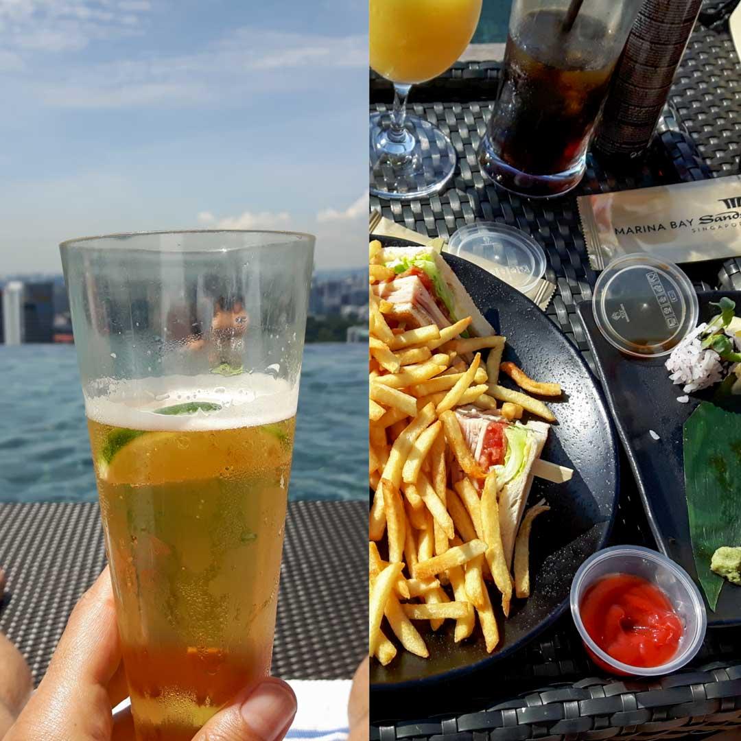 Comida en Marina Bay