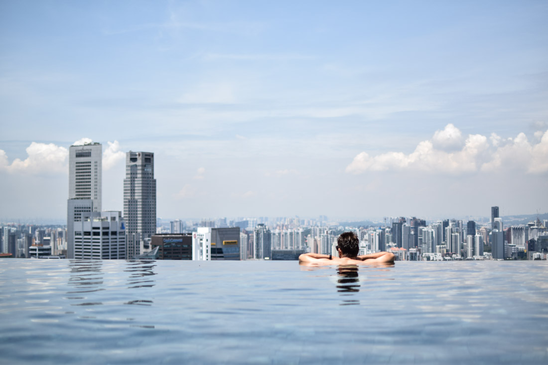 Piscina Hotel Marina Bay Sands