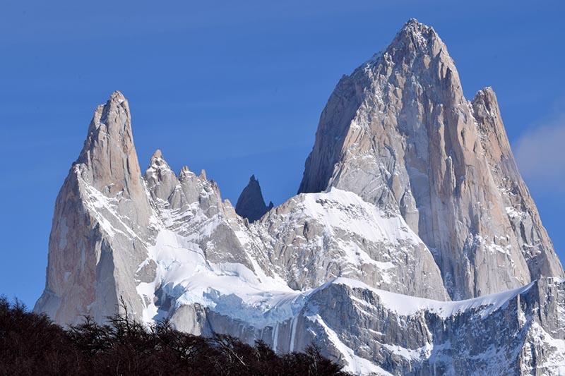 Aguja Poincenot y Cerro Fitz Roy
