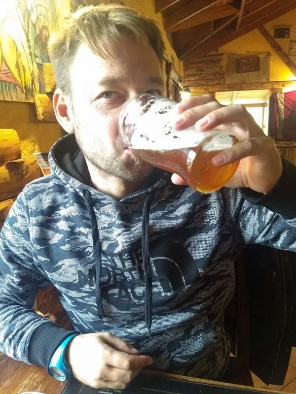 Cerveza en Patagonia Rebelde El Chalten