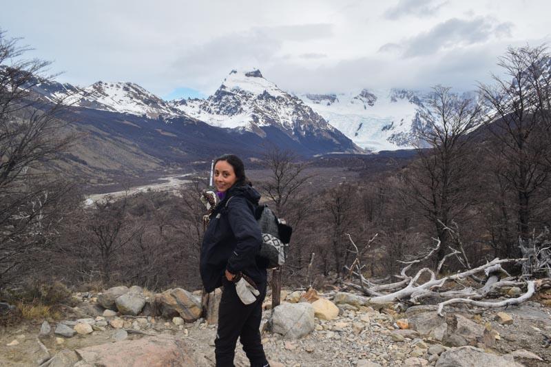 El mirador del Cerro Torre El Chaltén